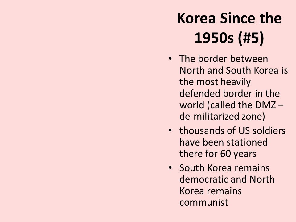 a history of the japan and north korea in the 1950s 45 north korea and support to terrorism: an evolving history by bruce e bechtol, jr1 introduction the dprk's (democratic people's repu blic of korea or north korea.