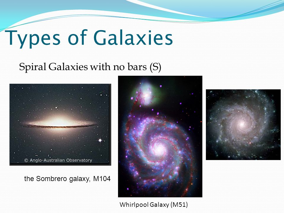 types of galaxies spiral - photo #1