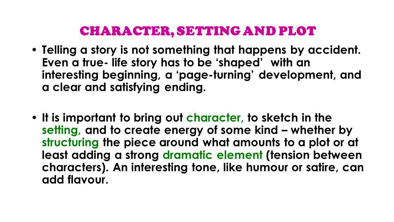 setting characters essay