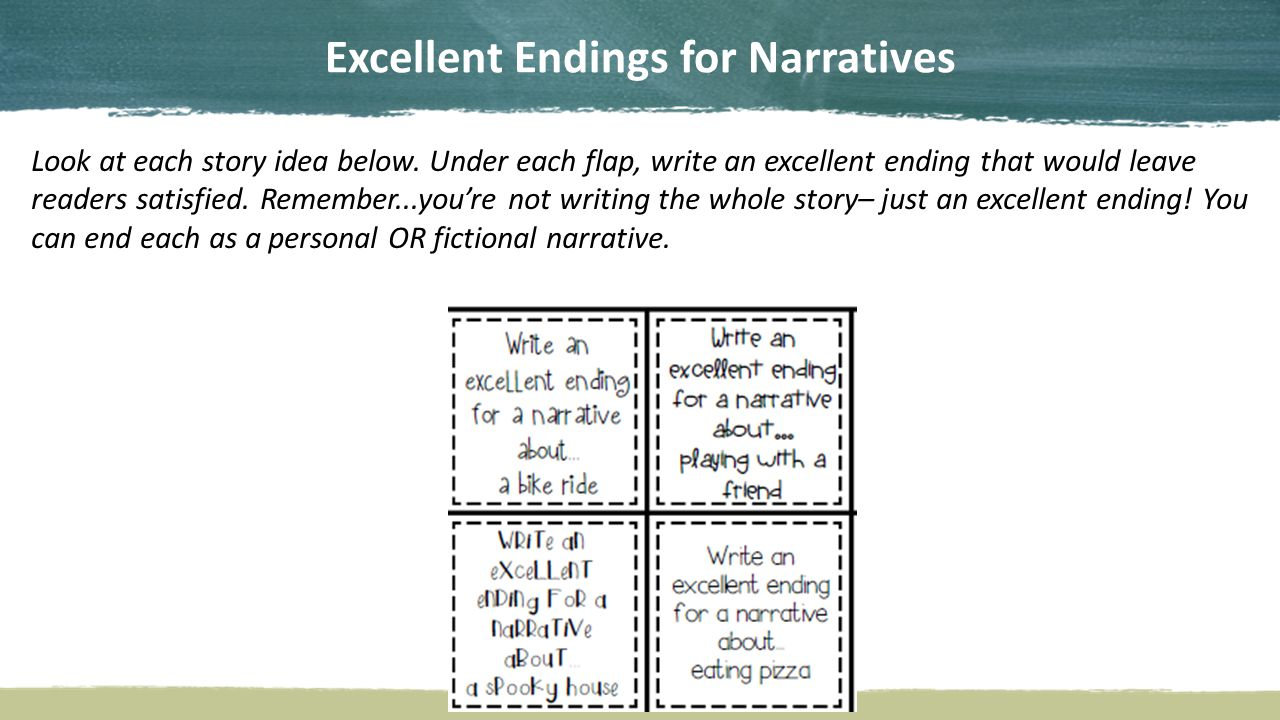 good endings personal essay Need a unique, good and interesting personal essay topic to write about we have come up with 100 cool topic ideas for college students.