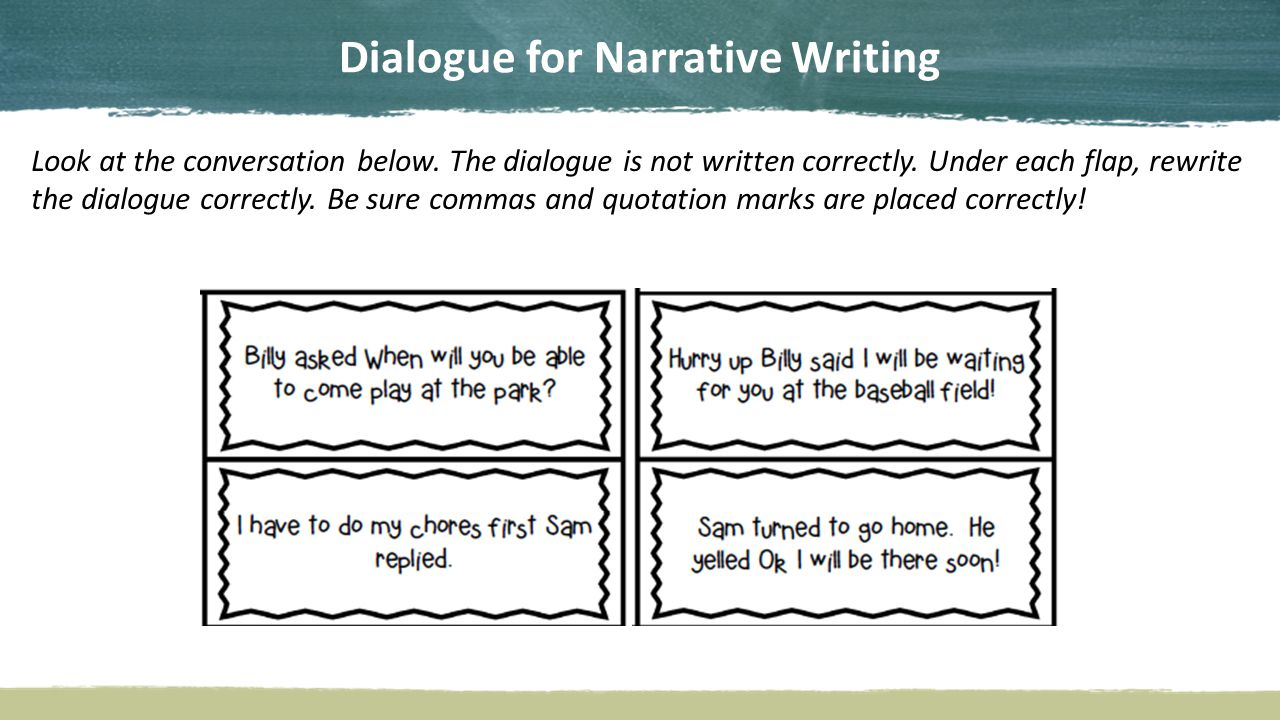 learning how to write a great narrative ppt video online download