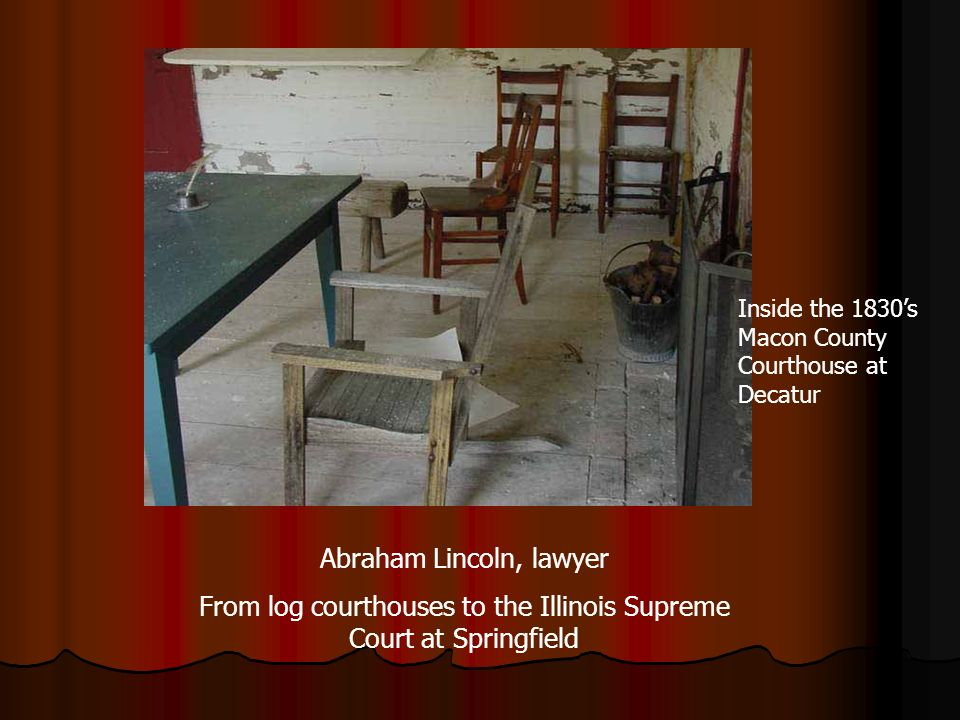 Abraham Lincoln, lawyer