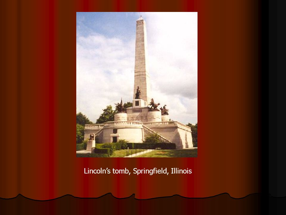 Lincoln's tomb, Springfield, Illinois