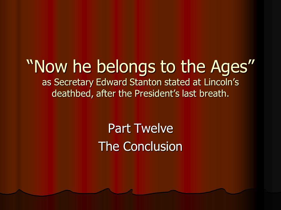 Part Twelve The Conclusion