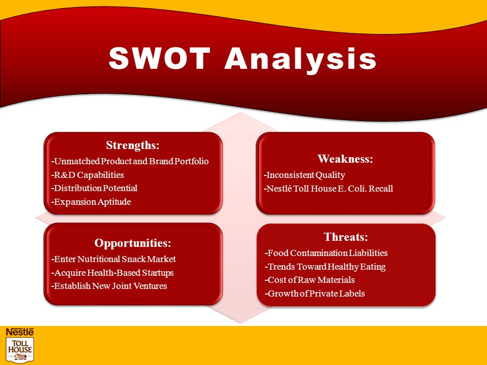 snack food swot Meets need for both a healthy and convenience snack not a staple food unlike cereal swot analysis for cereal bar market author.