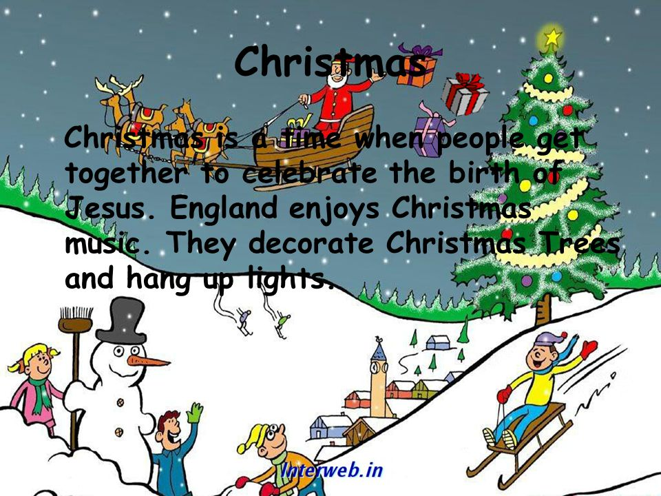 Christmas traditions england ppt video online download christmas sciox Image collections