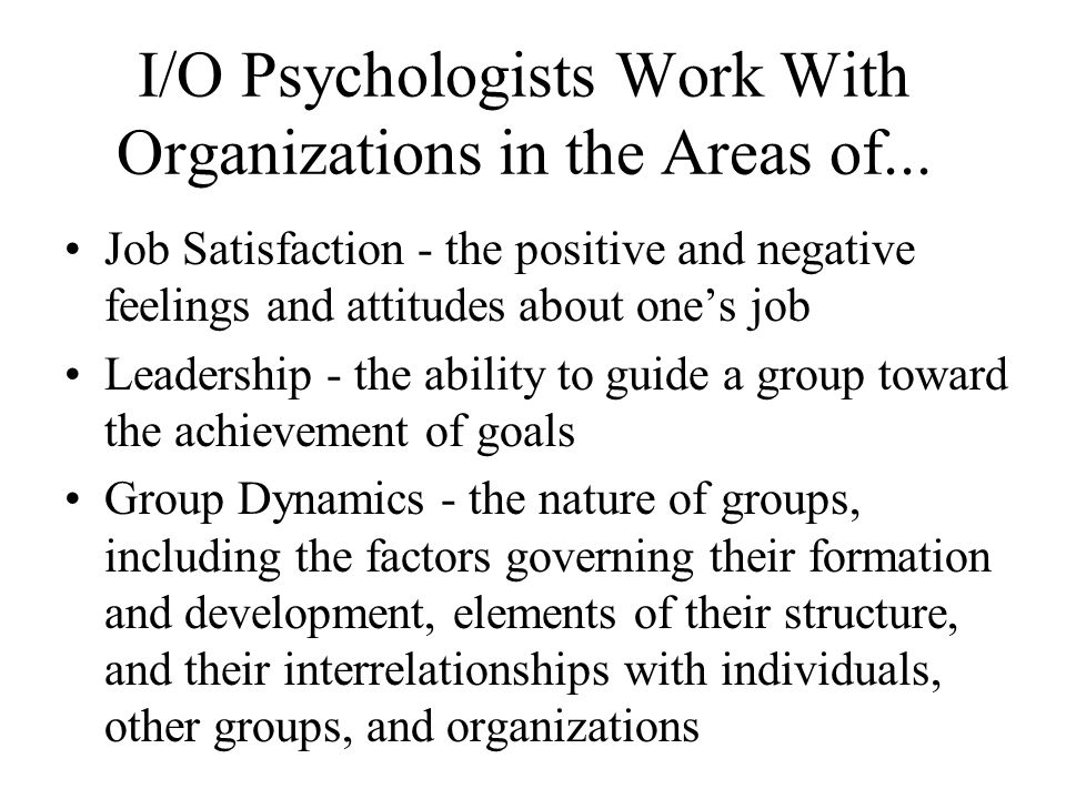 what areas psychologists work in & how to become one