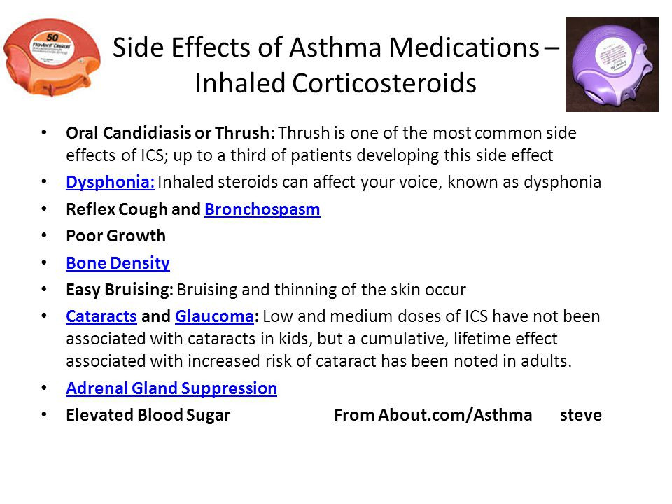 Oral systemic corticosteroids asthma - Short term use of
