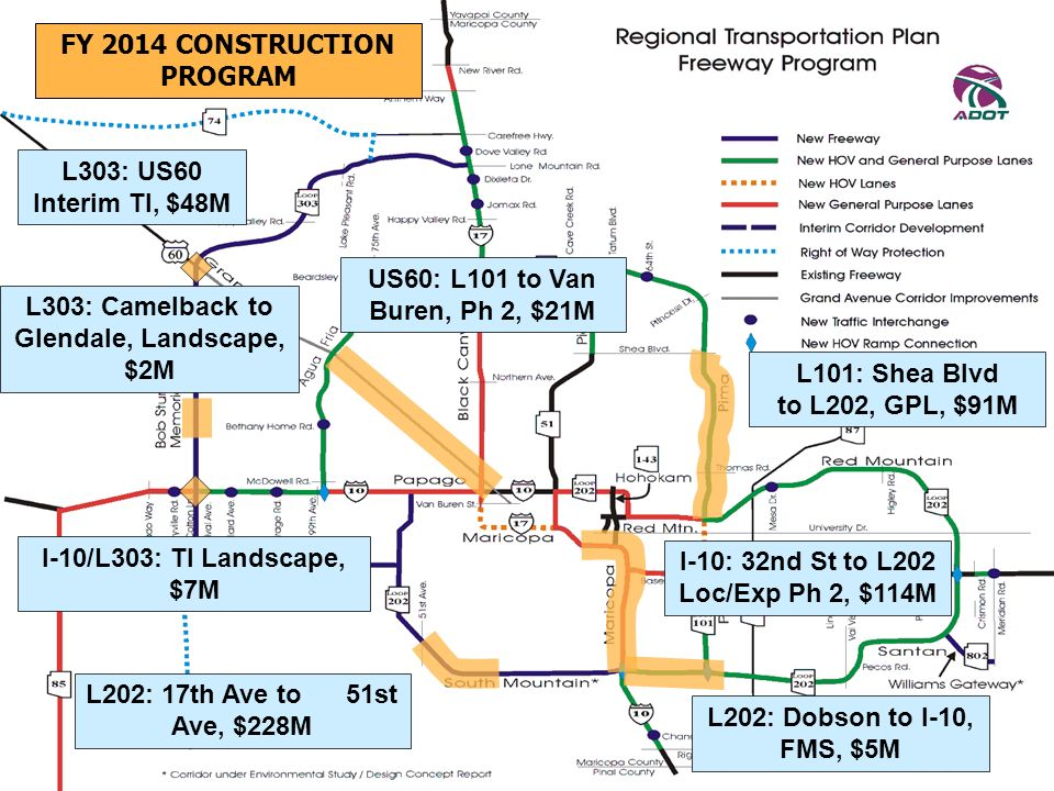 FY 2014 CONSTRUCTION PROGRAM