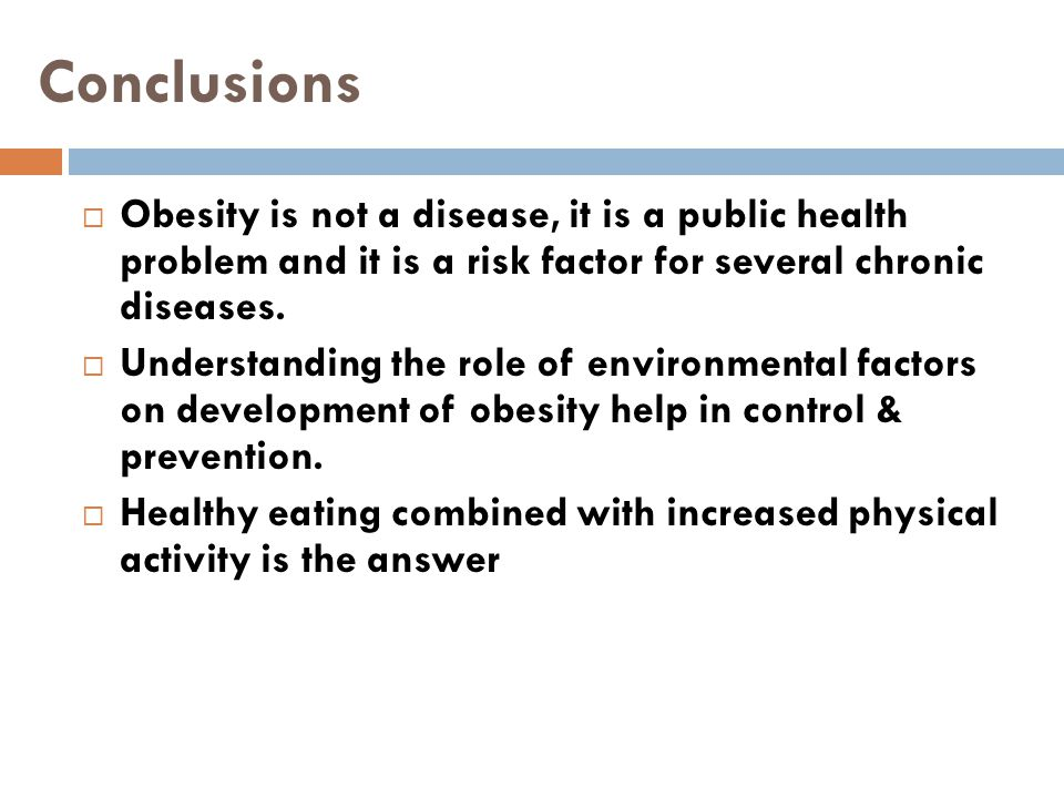 obesity is a problem essay
