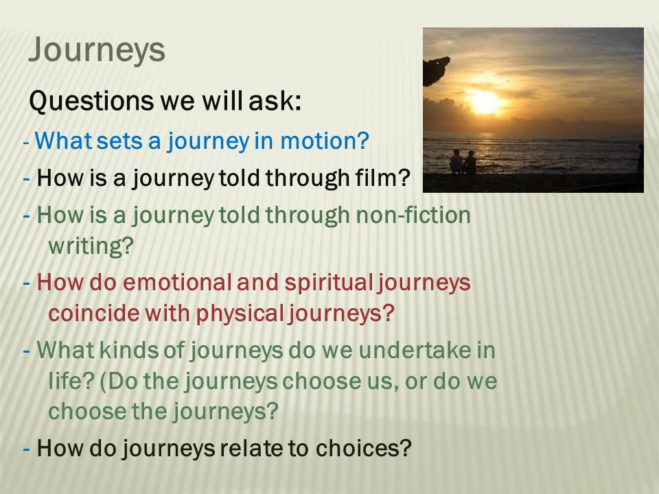 Area of Study – Journeys | Ruby McAuliffe - Academia.edu