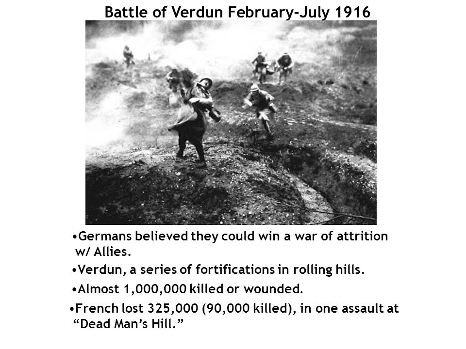 Battle of Verdun February-July 1916