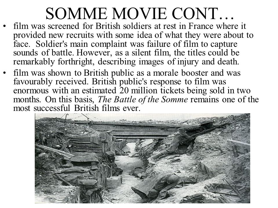 SOMME MOVIE CONT…