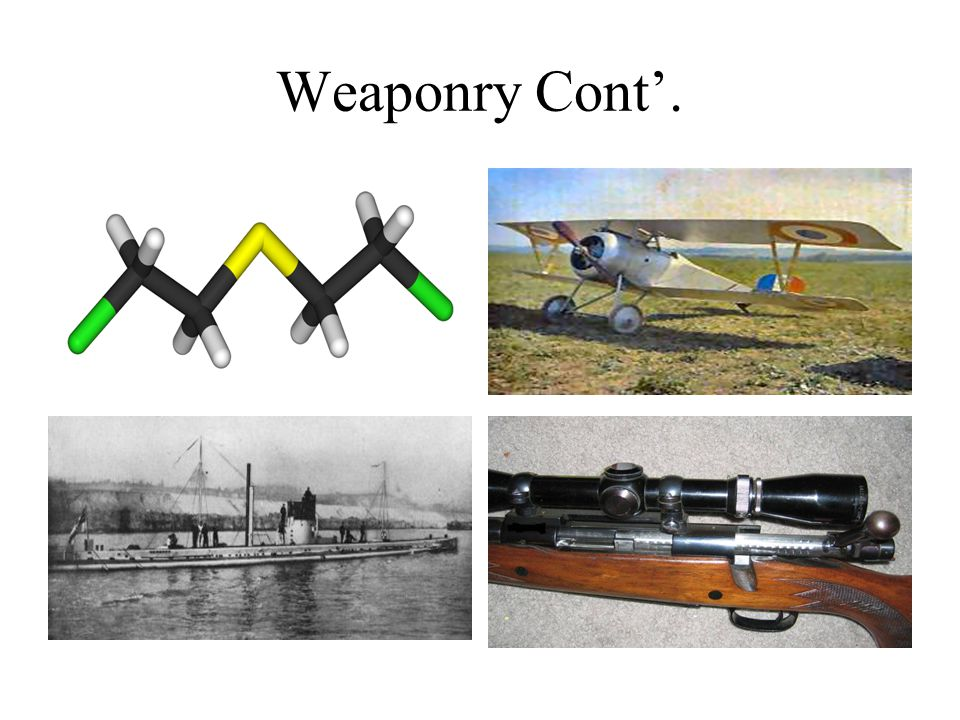 Weaponry Cont'.