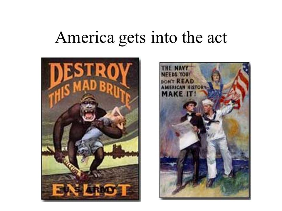 America gets into the act