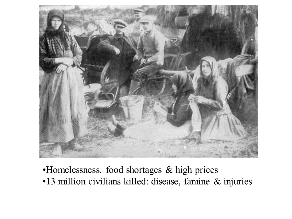 Homelessness, food shortages & high prices