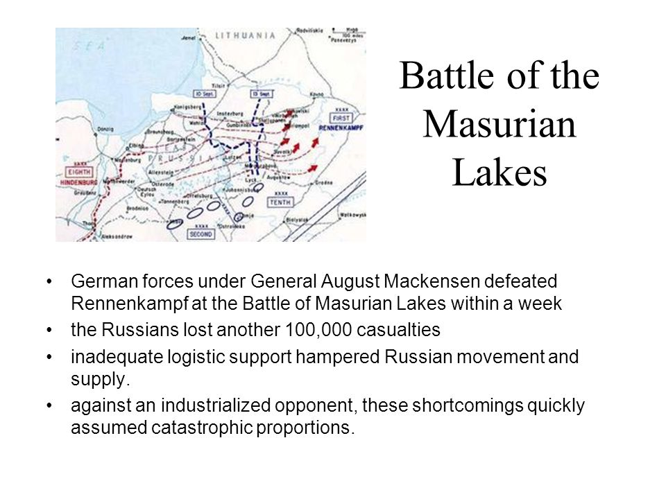 Battle of the Masurian Lakes