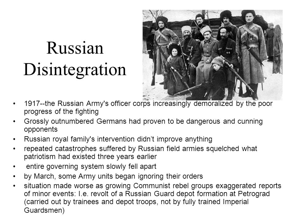 Russian Disintegration