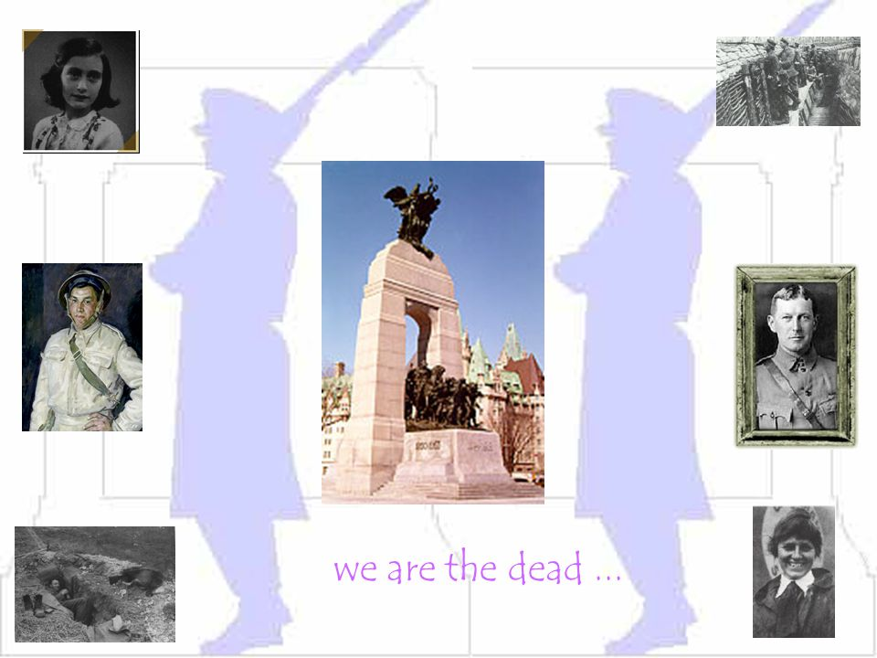 we are the dead ...