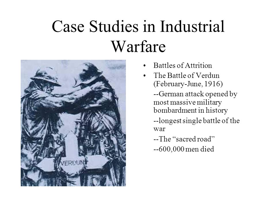 Case Studies in Industrial Warfare