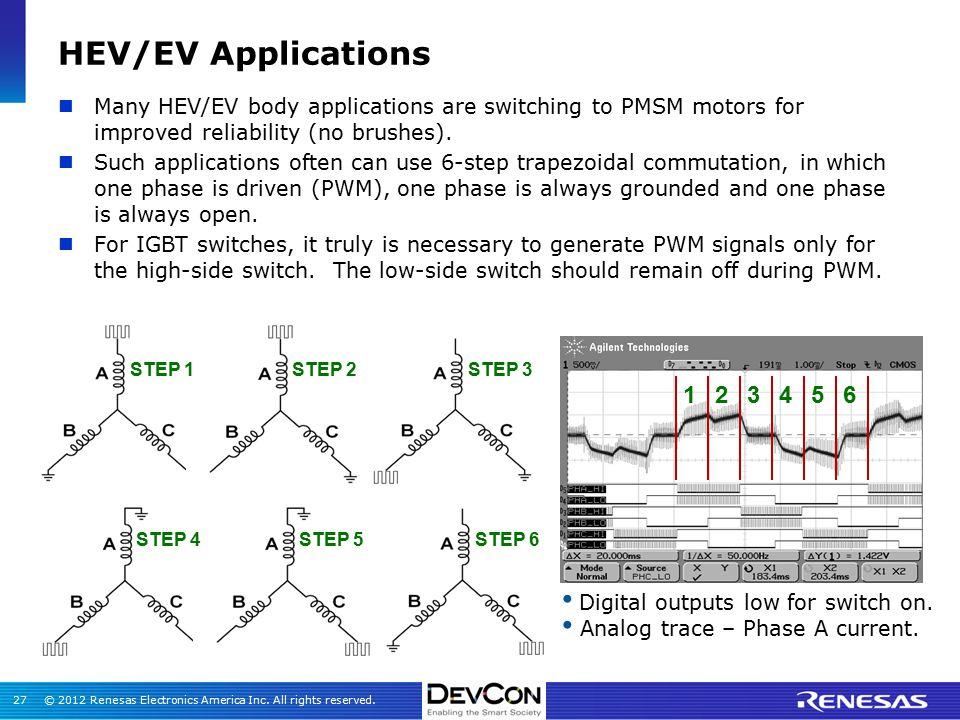 Igbt applications in hev ev ppt video online download for Bldc motor design calculations