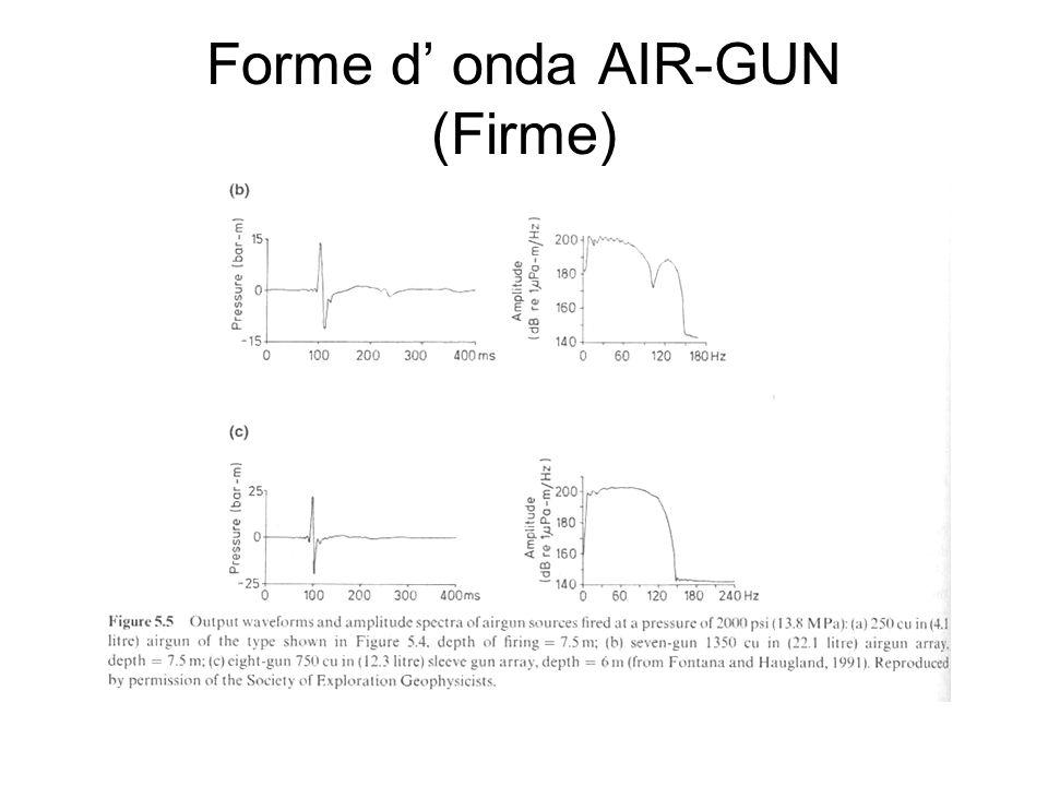 Forme d' onda AIR-GUN (Firme)