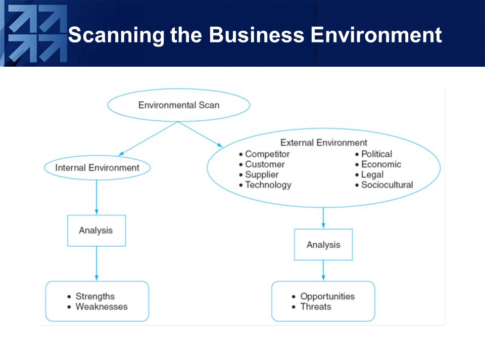 an environmental scanning system for business planning
