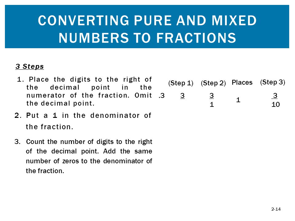 how to add mixed fractions step by step