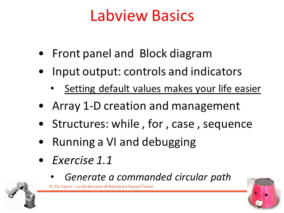Labview Basics Front panel and Block diagram