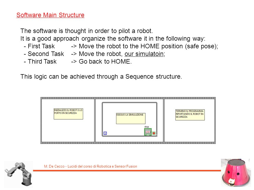 Software Main Structure