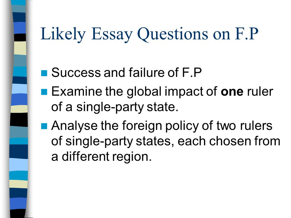 mussolini s foreign policy ppt video online  likely essay questions on f p