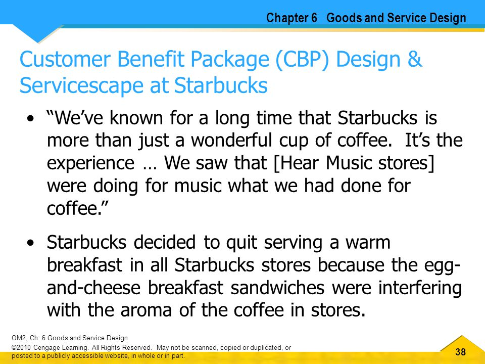 servicescape of starbucks The servicescape concept builds upon  brandscapes are utilized by transnational companies such as disney and starbucks to provide a symbolic retail space that.