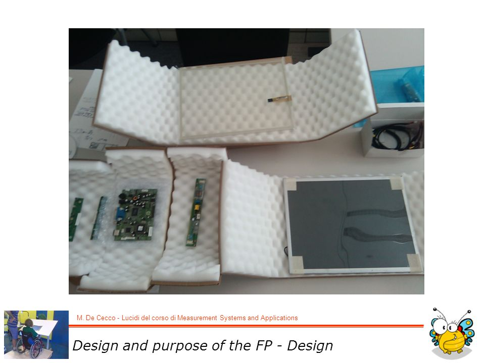 Design and purpose of the FP - Design