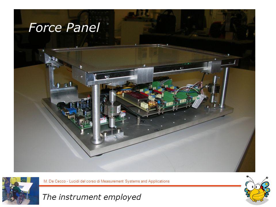 Force Panel Dopo una breve introduzione … The instrument employed 2