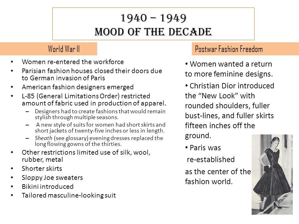 2 1940 – 1949 ...