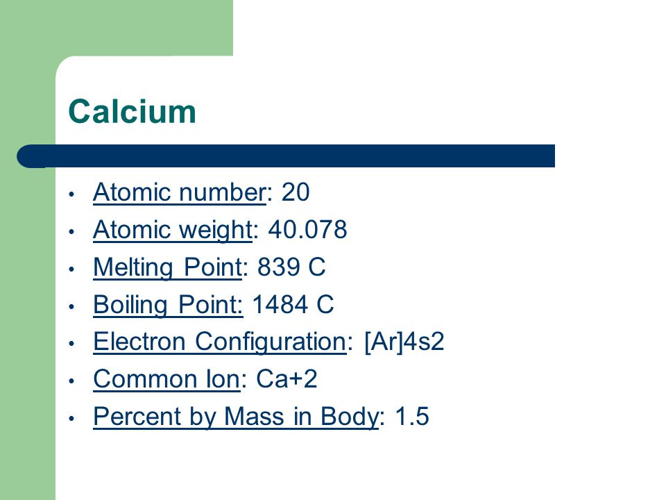 The periodic table ppt video online download the periodic table 2 calcium atomic number urtaz Images