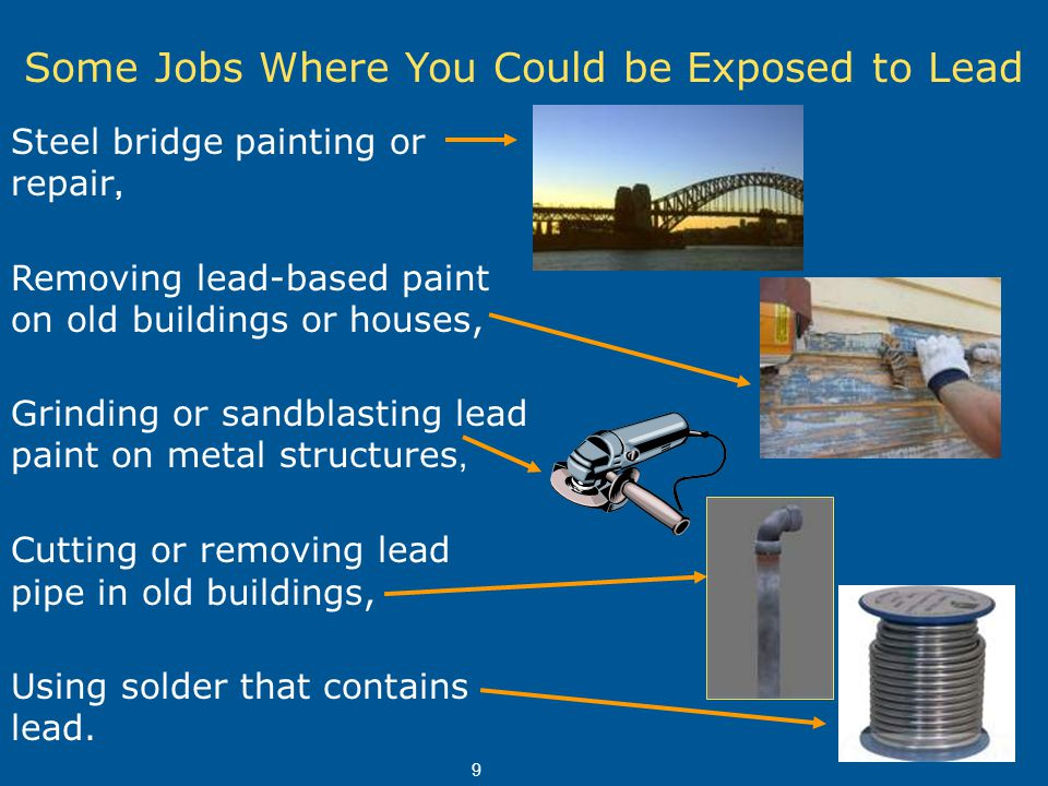 Training On The Hazards Of Lead At Construction Worksites Ppt Video Online Download