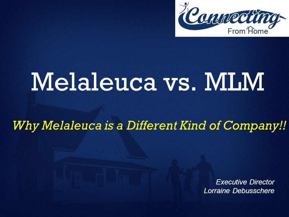 Why Melaleuca Is A Different Kind Of Company Ppt Video