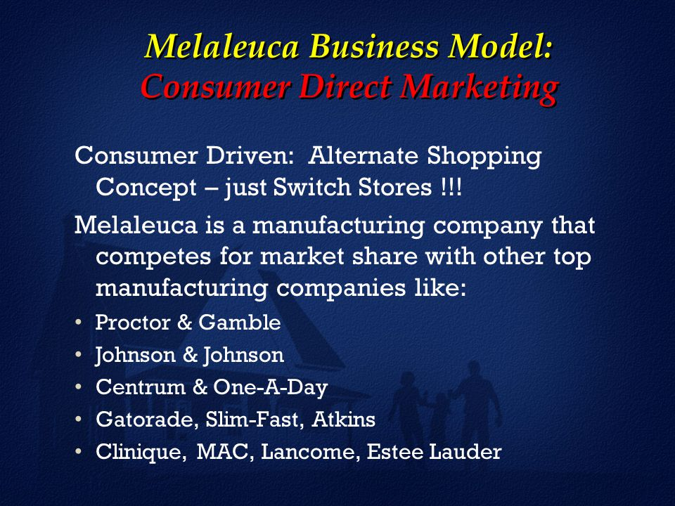 Why Melaleuca is a Different Kind of Company!! - ppt video online ...