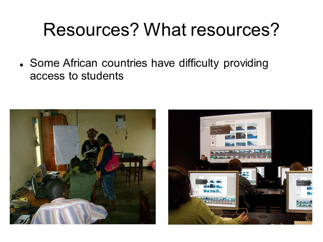 Resources What resources