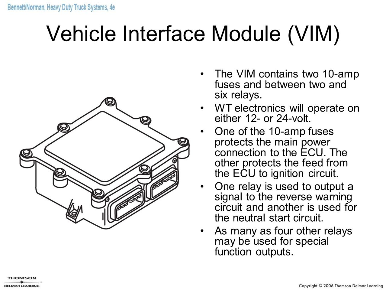 Vehicle+Interface+Module+%28VIM%29 allison electronic transmissions ppt download