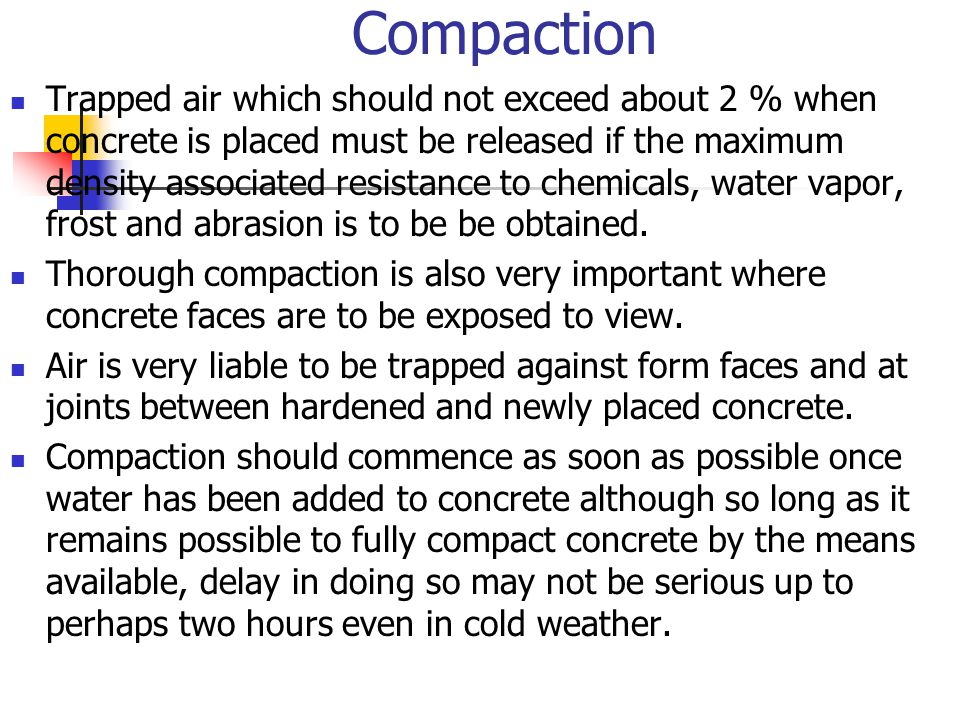 By ikmalzatul abdullah ppt video online download for How long should concrete cure before removing forms