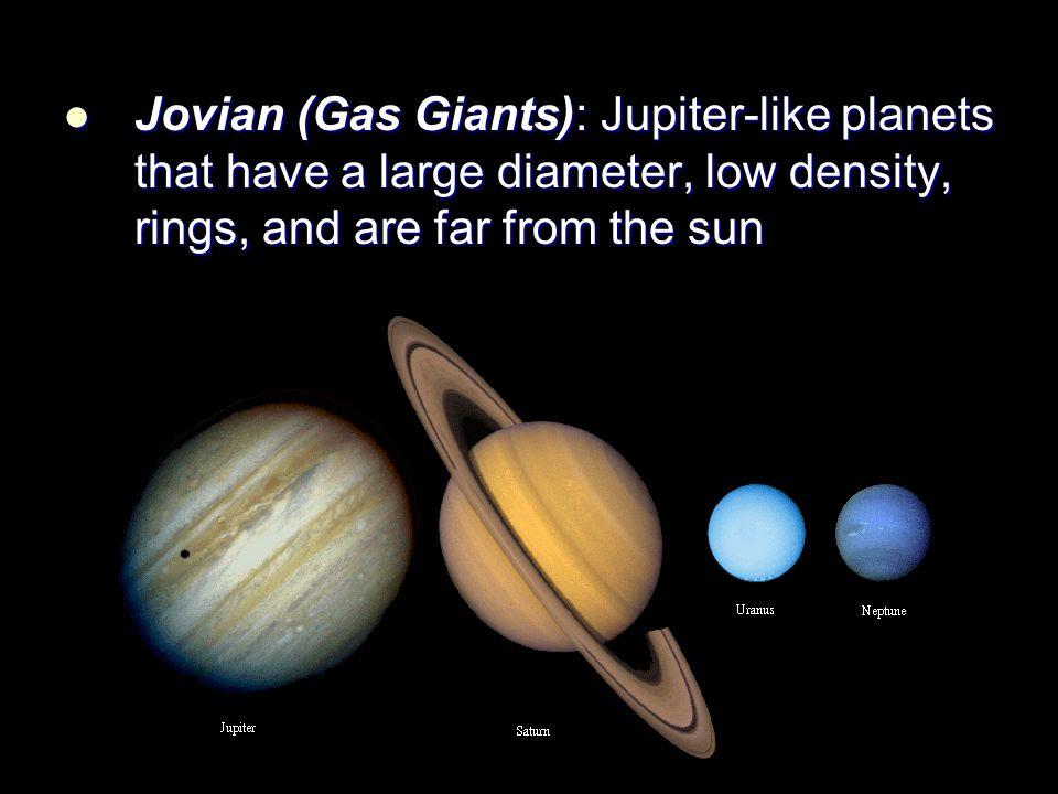 jovian planets density - photo #2
