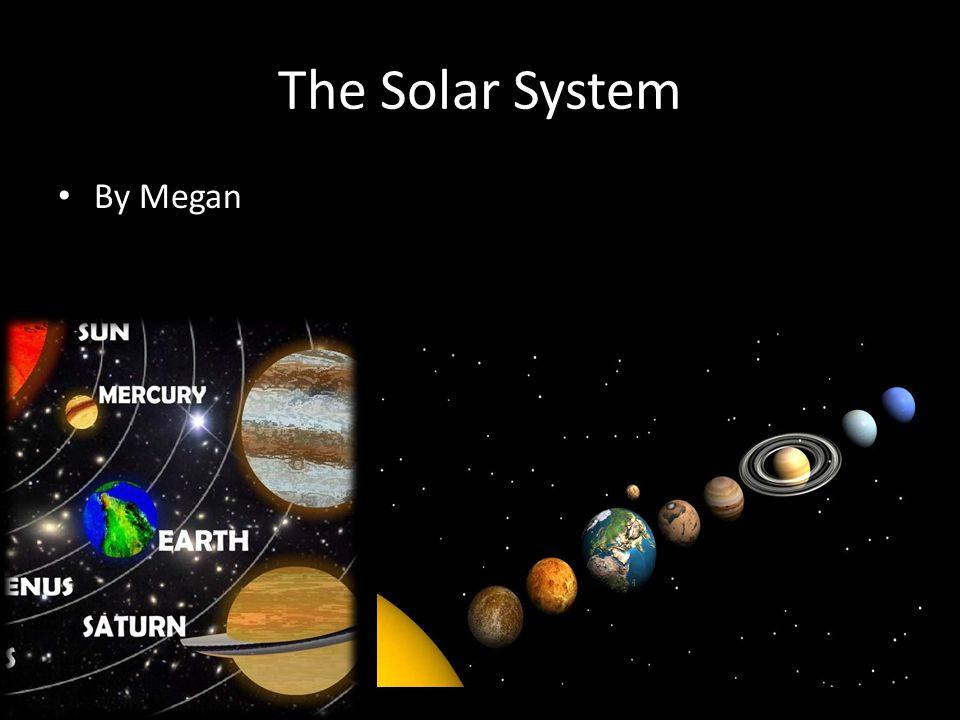 The Solar System By Megan