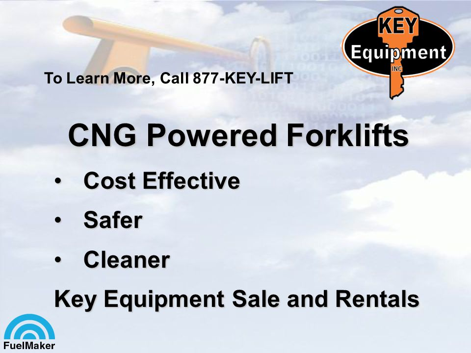 CNG Powered Forklifts Cost Effective Safer Cleaner