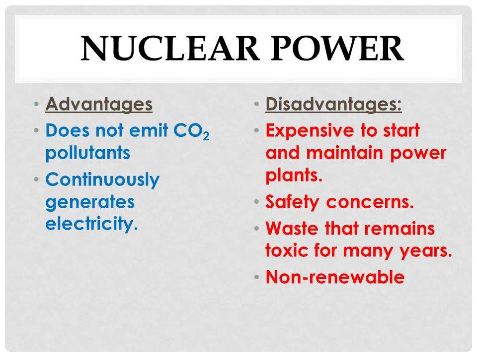 Advantages Amp Disadvantages Of Energy Resources Ppt Video