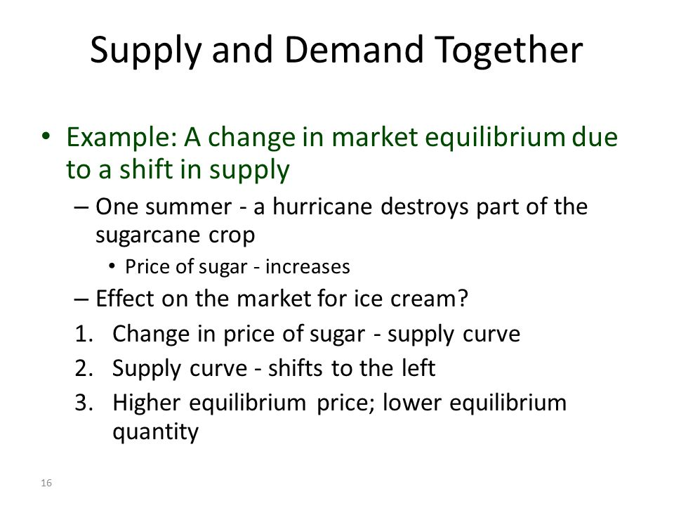 market equilibrium process Equilibrium means a state of equality or balance between market demand and supply.