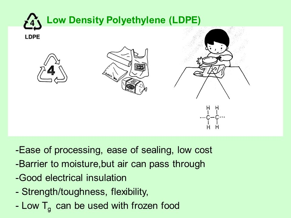 Low Density Polyethylene Ldpe : Introduction to polymer engineering ppt video online