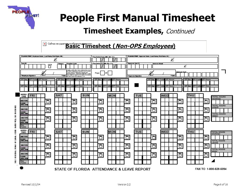 timesheet examples