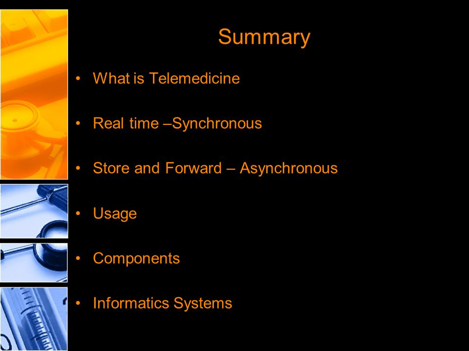 Telemedicine In Today S Healthcare Arena Ppt Download